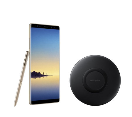 "Samsung Galaxy Note 8 6.2"" 64GB Smartphone with Case & Charger"