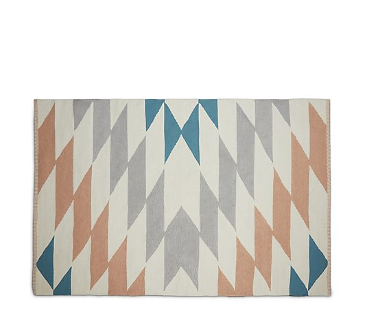 BundleBerry by Amanda Holden Indoor Outdoor Geometric Rug