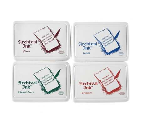 Ranger Set of 4 Archival Ink Pads