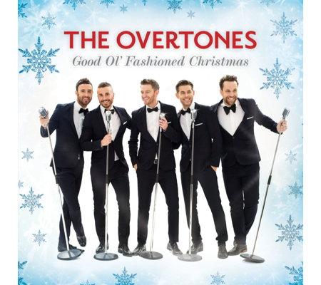 The Overtones Good Ol' Fashioned Christmas CD Album