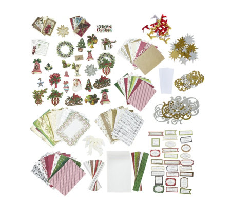 Anna Griffin Complete Holiday Trimmings Christmas Card Making Kit - Page 1 - QVC UK