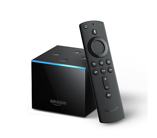 Amazon Fire TV Cube Hands Free with Alexa, 4K Ultra HD Streaming Media Player