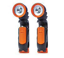 Langdon's 2 x Clip-On LED Torches - 506374