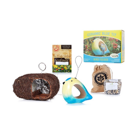 Wildlife World Bird Feed & Nest Gift Hamper