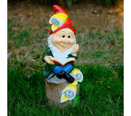 Jennings Gnome with Solar Lights