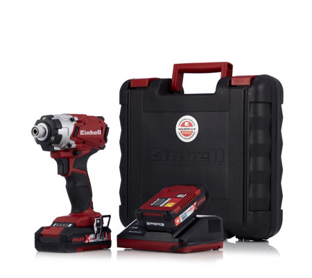 Einhell 18v Cordless Impact Driver with 2 Batteries & Charger