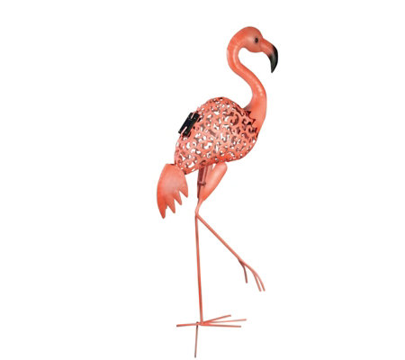 Luxform Solar LED Flamingo