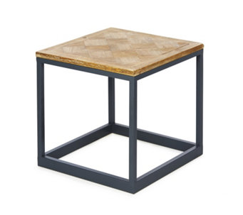 BundleBerry by Amanda Holden Parquet Top Side Table - 508983