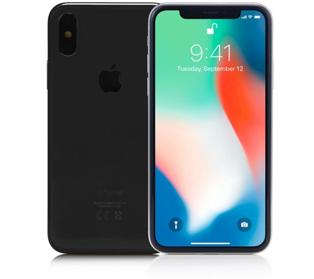 Apple iPhone X with Accessories & 2 Year Tech Support