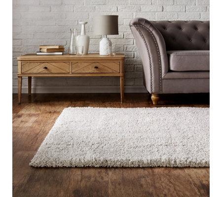 Cozee Home Juno Soft Twist Shaggy Rug Qvc Uk