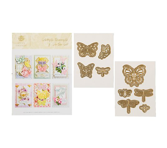 Anna Griffin Bee, Butterfly and Dragonfly Die Set