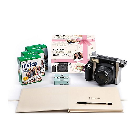 Fuji Instax Wide 300 Instant Camera Wedding Bundle
