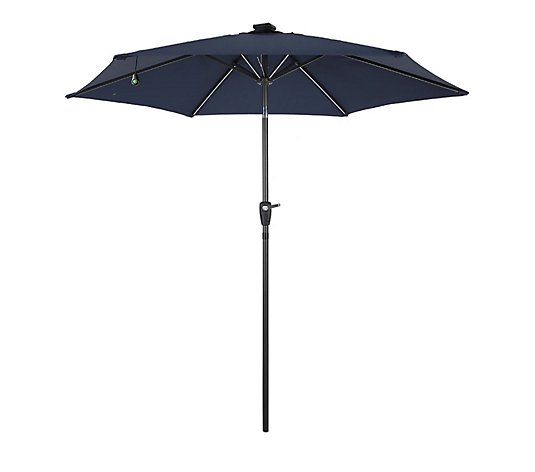 Innovators 2.7m LED Solar Parasol