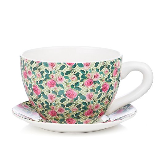 Jennings Cup & Saucer Planter