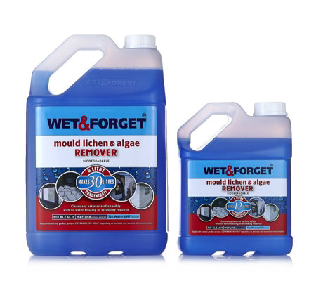 Wet & Forget 5L & 2L Moss, Mould, Lichen & Algae Remover