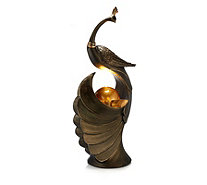 Home 2 Garden LED Peacock Water Feature - 515297
