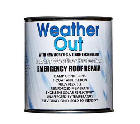 Weather Out Emergency Roof Repair 1kg Tin