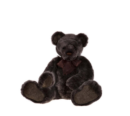 "Charlie Bears Collectable Hugsley 32.5"" Plush Bear"