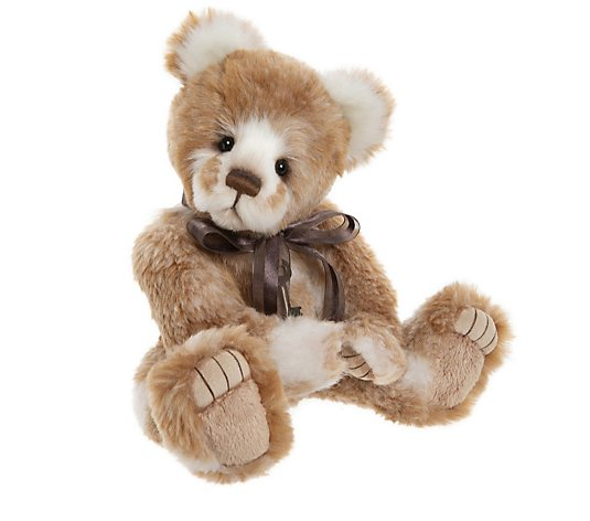 "Charlie Bears Secret Collection Chiquitita the Bear 12.5"" Plush Bear"