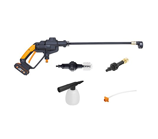 Worx Hydroshot with 2 Batteries, Carry Case and Accessories