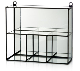 Home Reflections Mirrored Trinket Shelves - 706602