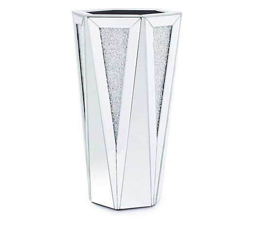 JM by Julien Macdonald Encapsulated Crystal Decorative Vase
