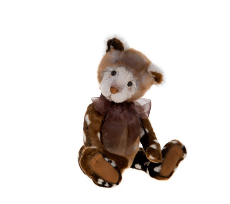 "Charlie Bears Secrect Collection Stollen 13.5"" Plush Bear"