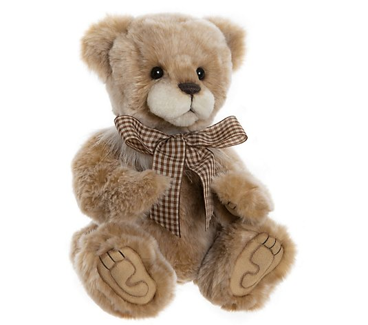"Charlie Bears Collectable Goody Two Shoes 8.5"" Plush Bear"
