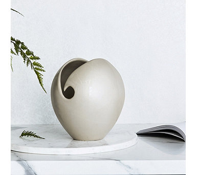 K By Kelly Hoppen Arya Glazed Vase - 708312