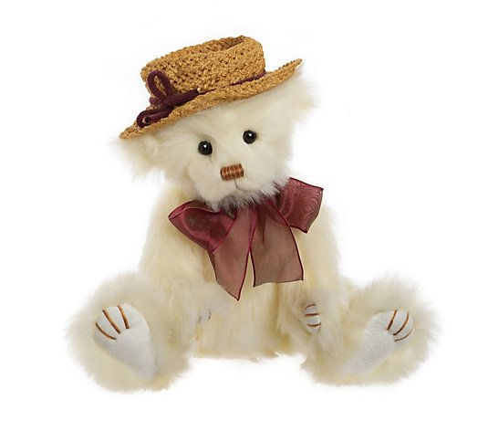 "Charlie Bears Collectable Miss Daisy 12"" Plush Bear"