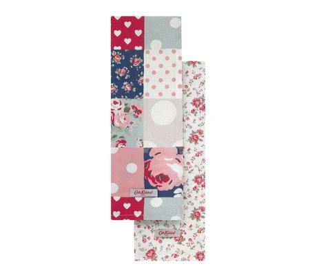 Cath Kidston Set Of Two Tea Towels Qvc Uk