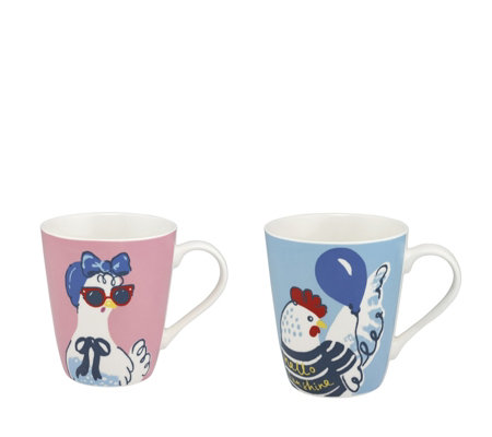Cath Kidston Hen Party Set of Two Stanley Mugs