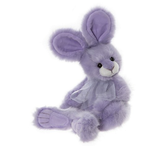"Charlie Bears Collectables Dew Drop the Rabbit 16.5"" Plush"