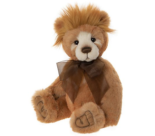 "Charlie Bears Collectable Hawkins the Bear 16"" Plush Bear"