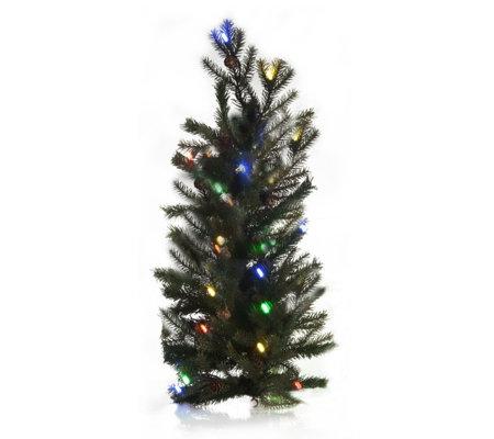 Teardrop Christmas Lights.Bethlehem Lights Battery Operated 24 Mountain Pine Teardrop S Qvc Uk