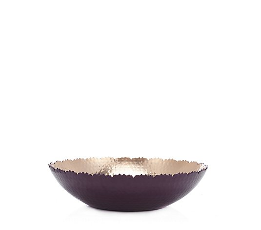 Alison Cork Hammered Frayed Edge Bowl