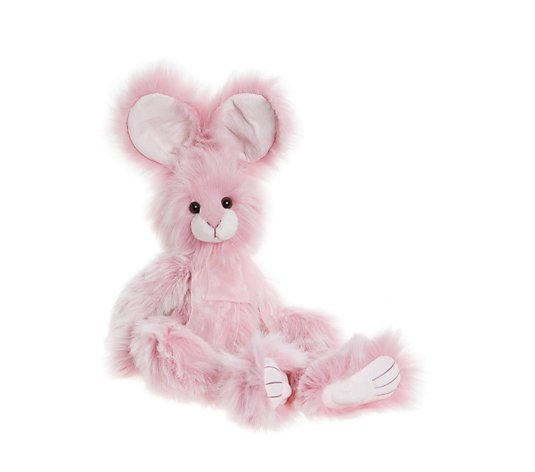 "Charlie Bears Collectable Pear Drop the Rabbit 20.5"" Plush Bear"