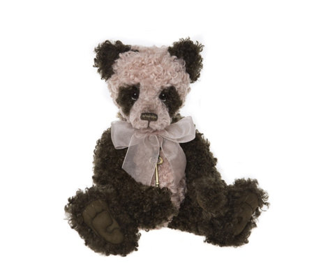 "Charlie Bears Collectable Ethel 19"" Plush Bear"