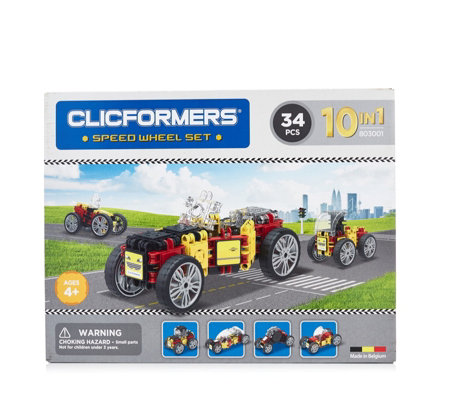 Clicformers 34 Piece Speed Wheel Set