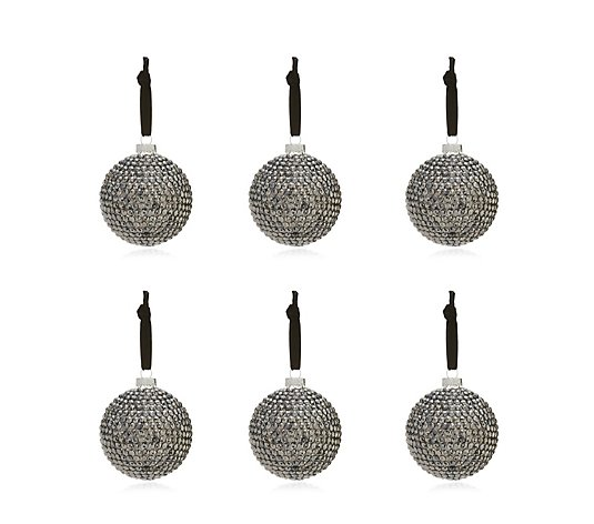 Alison Cork Set of 6 Studded Decorations