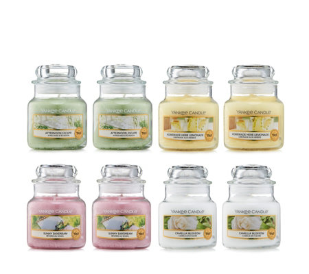 Yankee Candle 8 Piece Garden Hideaway Small Jars