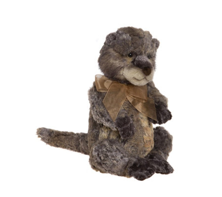 "Charlie Bears Collectable Fisher 13"" Plush Bear"