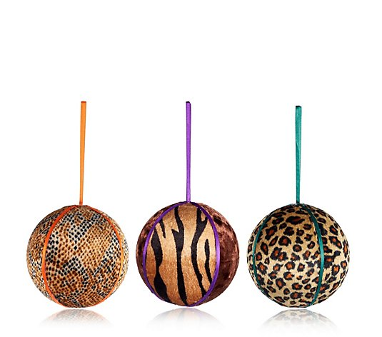 Edited by Erica Davies Animal Print Baubles