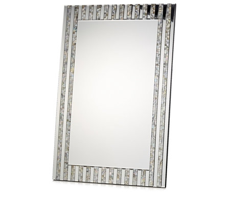 JM by Julien Macdonald Mother of Pearl Wall Mirror