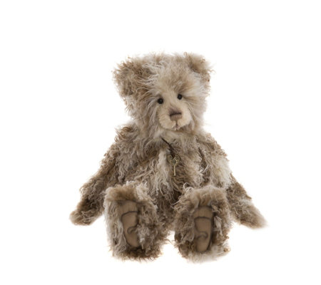 "Charlie Bears Collectable Rumples 21.5"" Plush Bear"