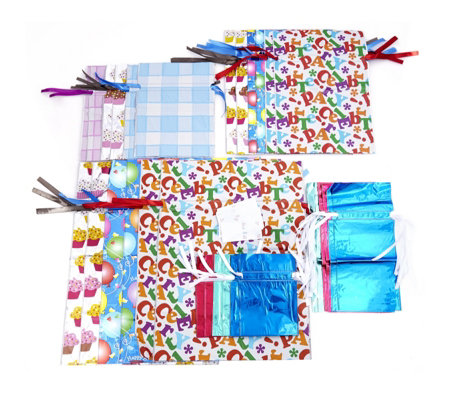 Gift-Mate 30 Piece Everyday & Christmas Gift Wrap Set