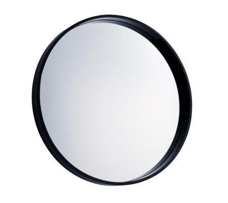 Habitat Aimee Round Wall Mirror with Black Frame
