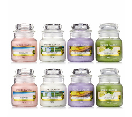 Yankee Candle 8 Small Jars