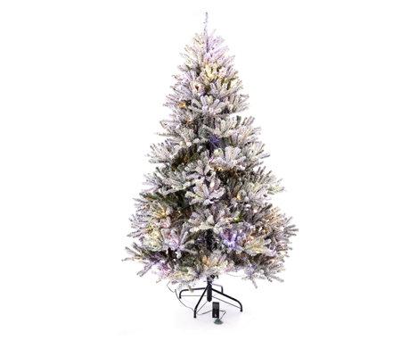 Santa S Best Pre Lit Douglas Fir Christmas Tree With Remote Control Qvc Uk