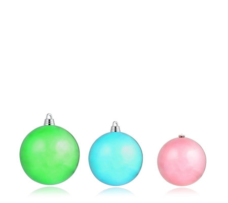 Home Reflections Set of 3 Oversized Baubles
